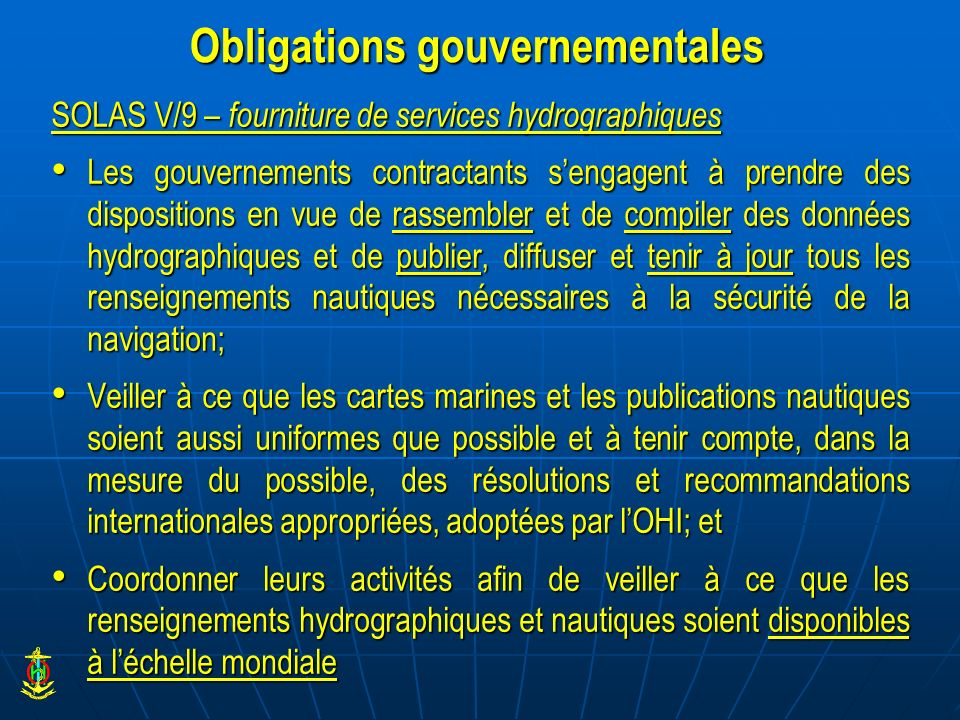 Obligations gouvernementales