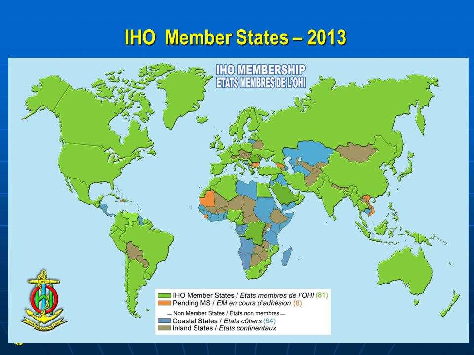 IHO Member States – 2013