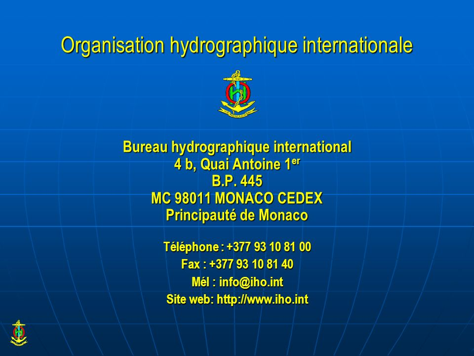 Organisation hydrographique internationale