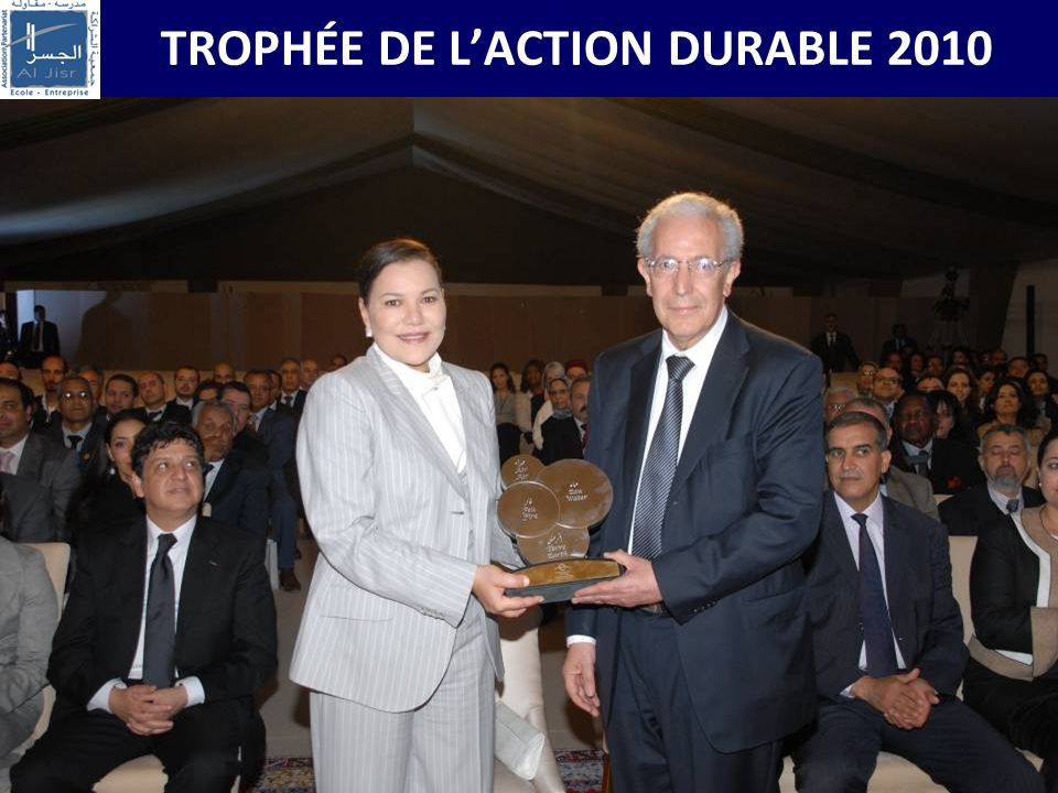 TROPHÉE DE L'ACTION DURABLE 2010