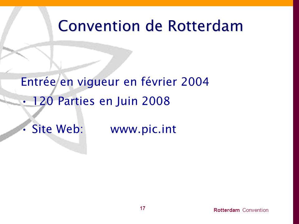 Convention de Rotterdam