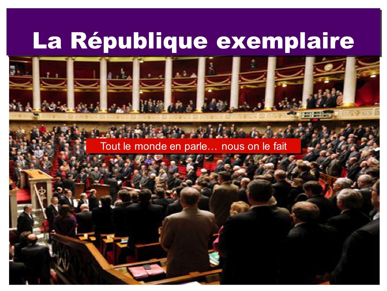 La République exemplaire