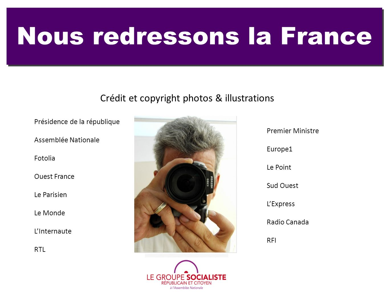 Nous redressons la France