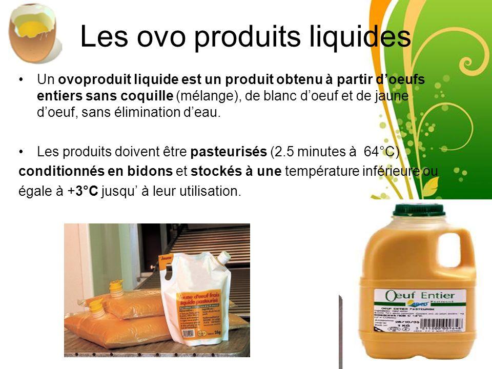 Les ovo produits liquides