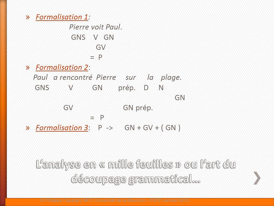 L'analyse en « mille feuilles » ou l'art du découpage grammatical…