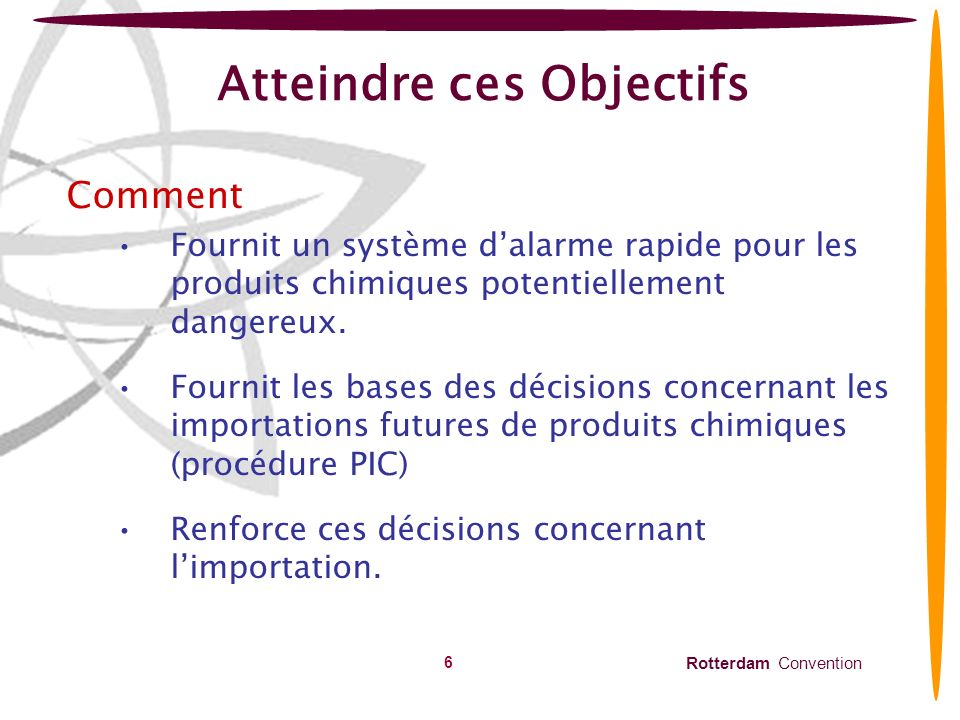 Atteindre ces Objectifs