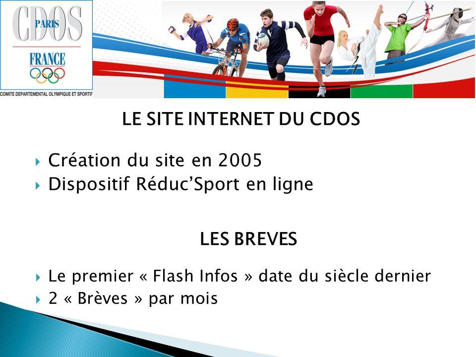 LE SITE INTERNET DU CDOS