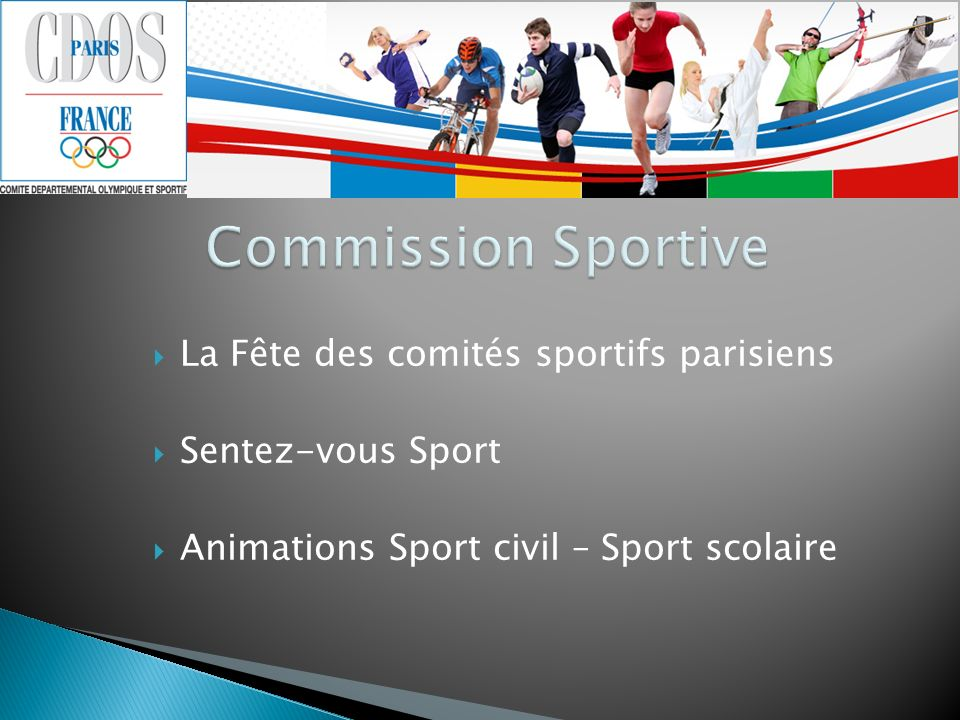 Commission Sportive Commission Sportive