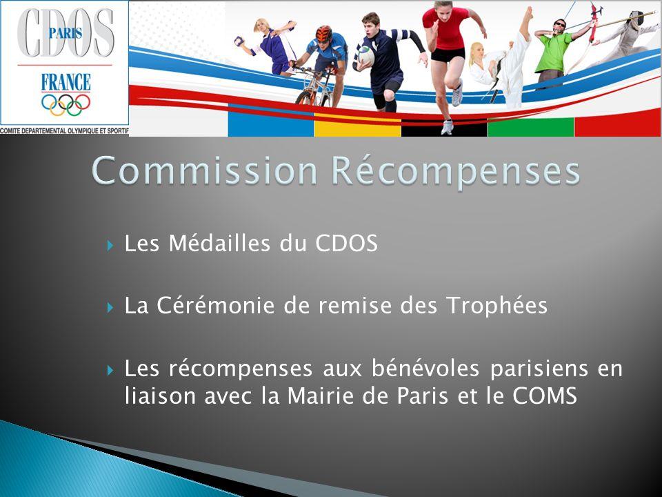 Commission Récompenses
