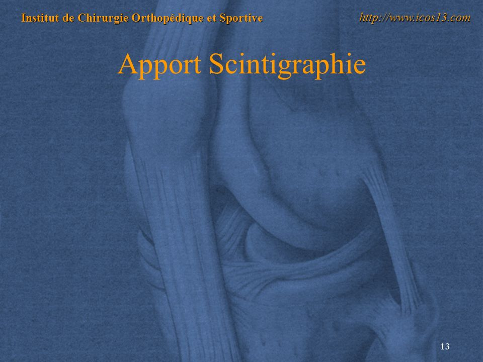 Apport Scintigraphie