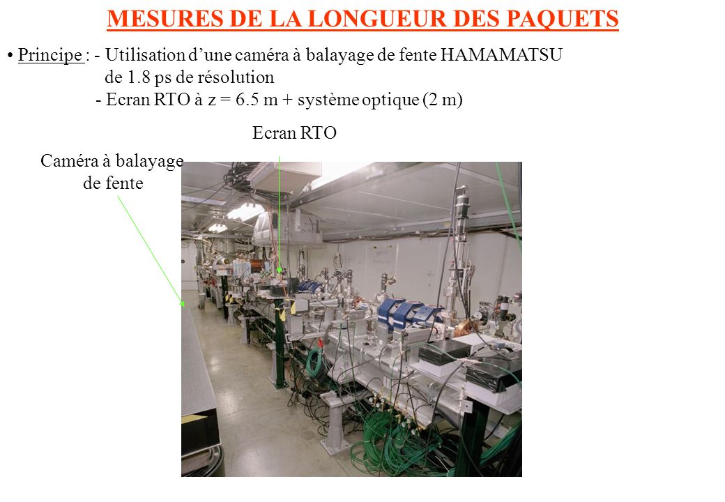 MESURES DE LA LONGUEUR DES PAQUETS