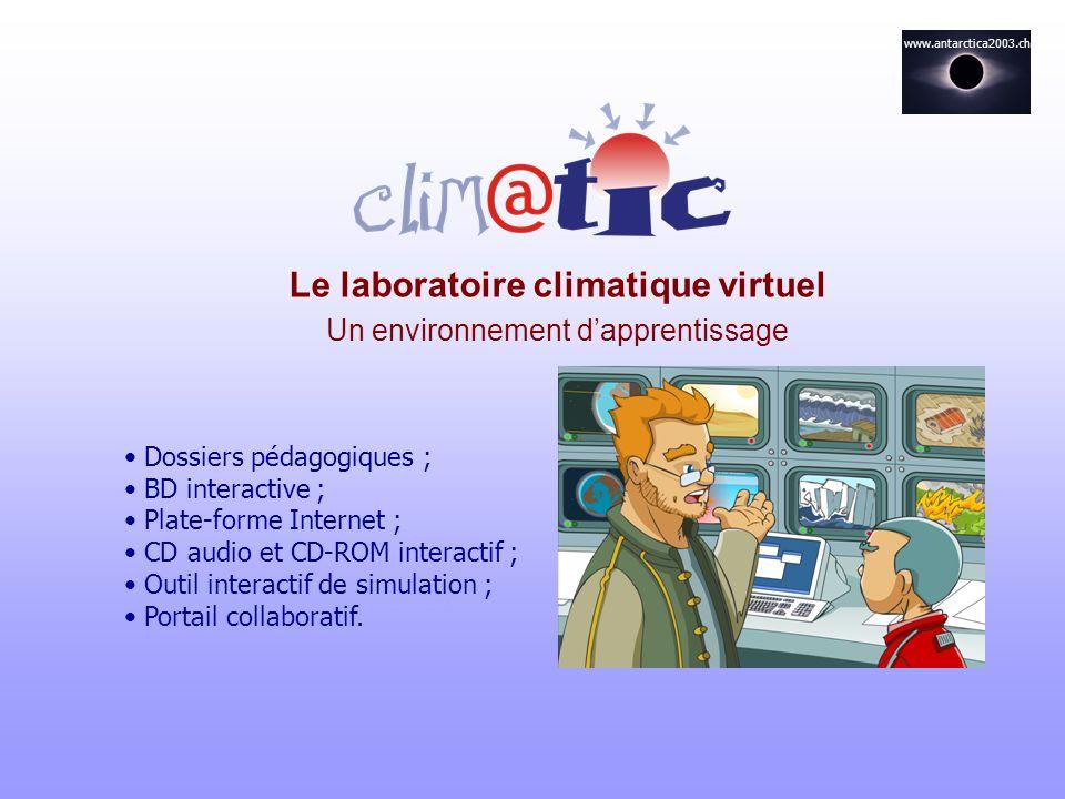 Le laboratoire climatique virtuel