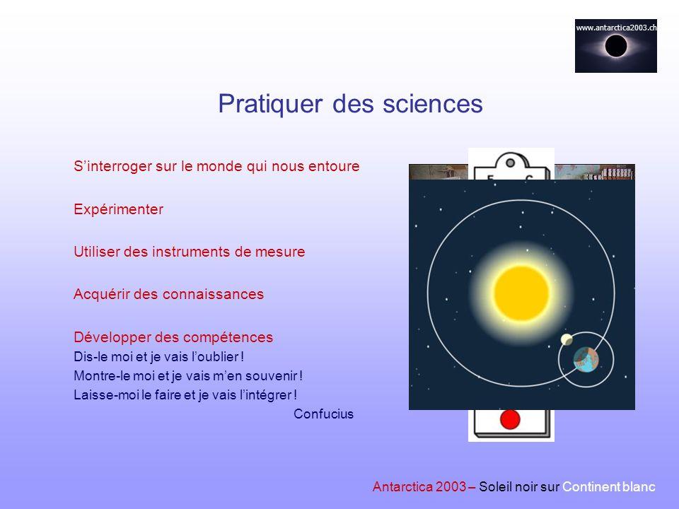 Pratiquer des sciences