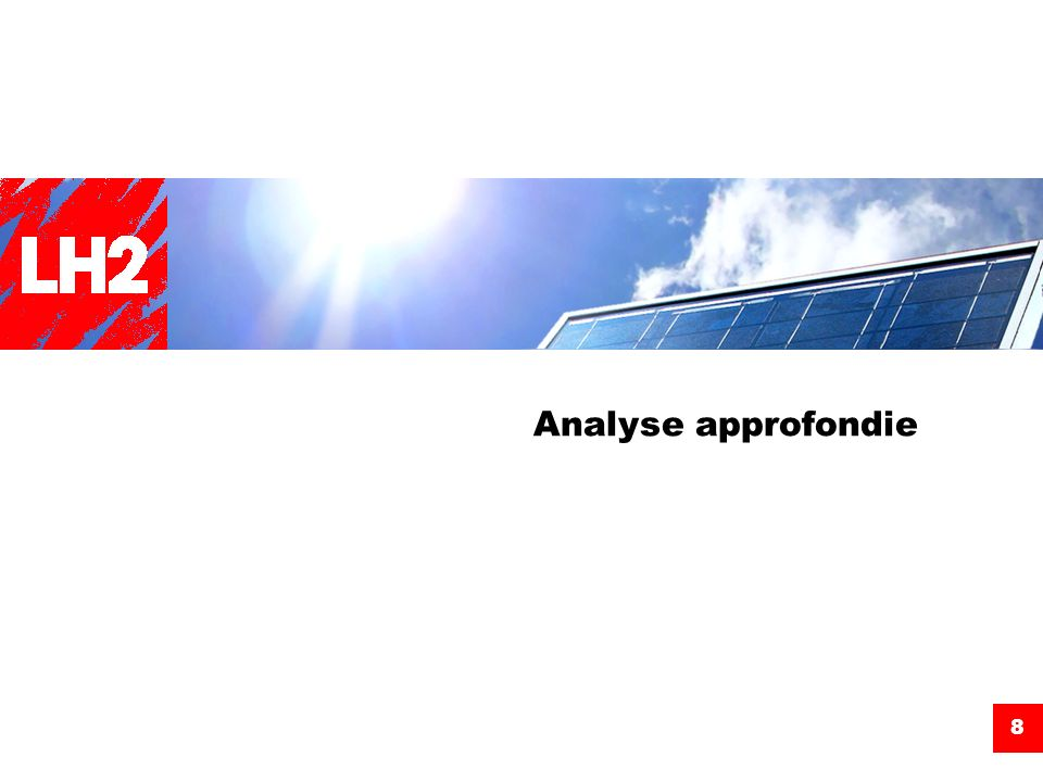 Analyse approfondie