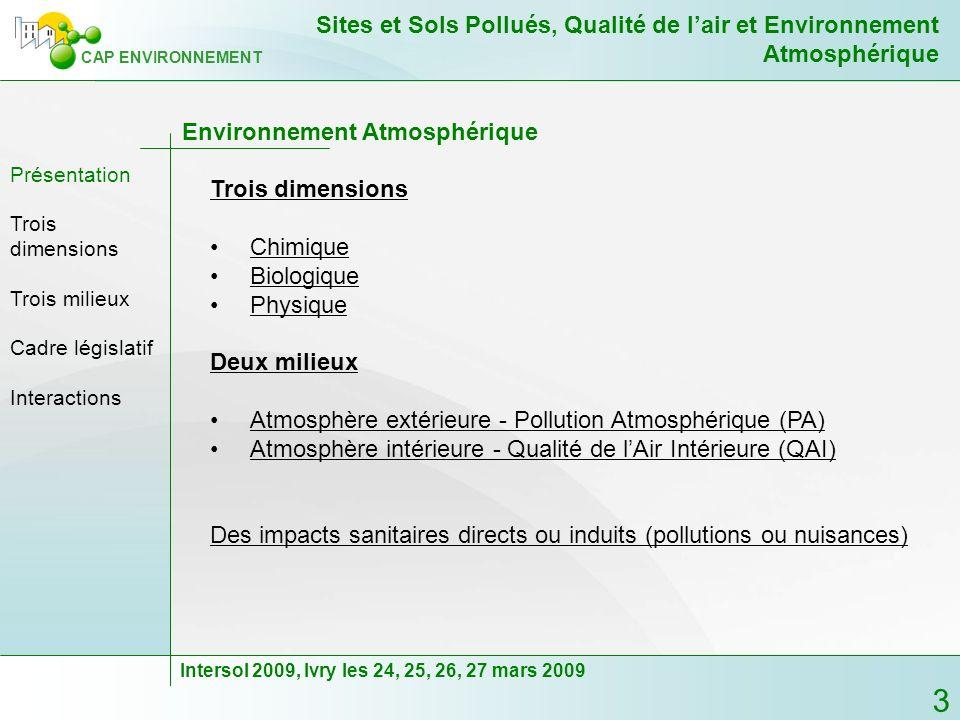 Environnement Atmosphérique
