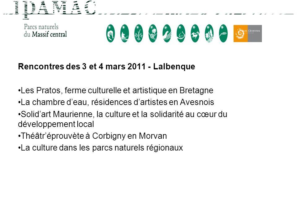Rencontres des 3 et 4 mars 2011 - Lalbenque