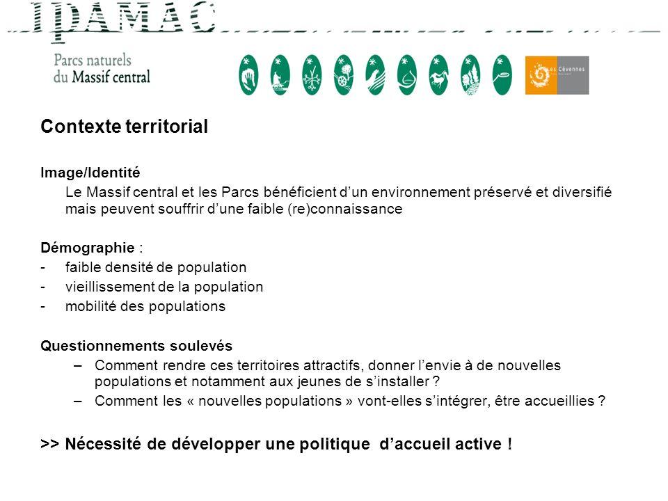 Contexte territorial Image/Identité.