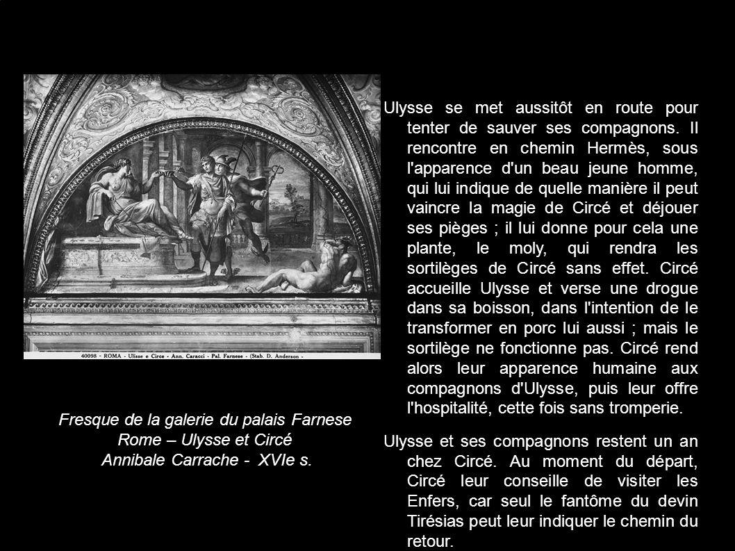 La rencontre d'ulysse et de circe