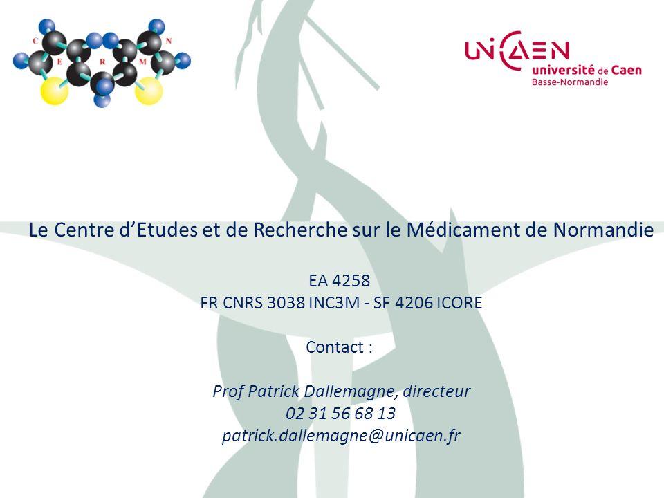 Le Centre d'Etudes et de Recherche sur le Médicament de Normandie