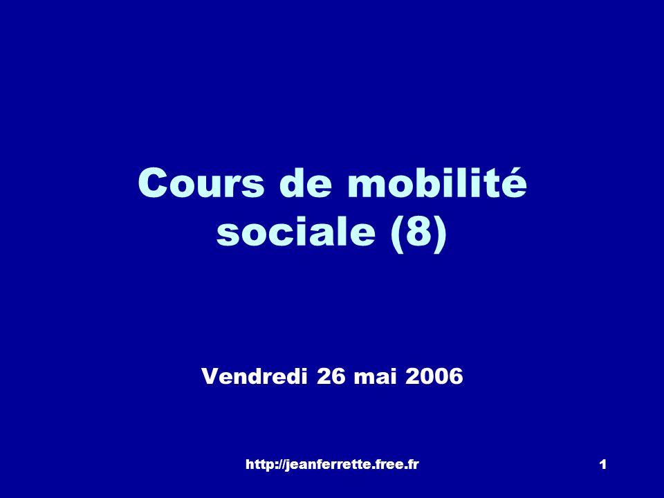 Cours de mobilité sociale (8)