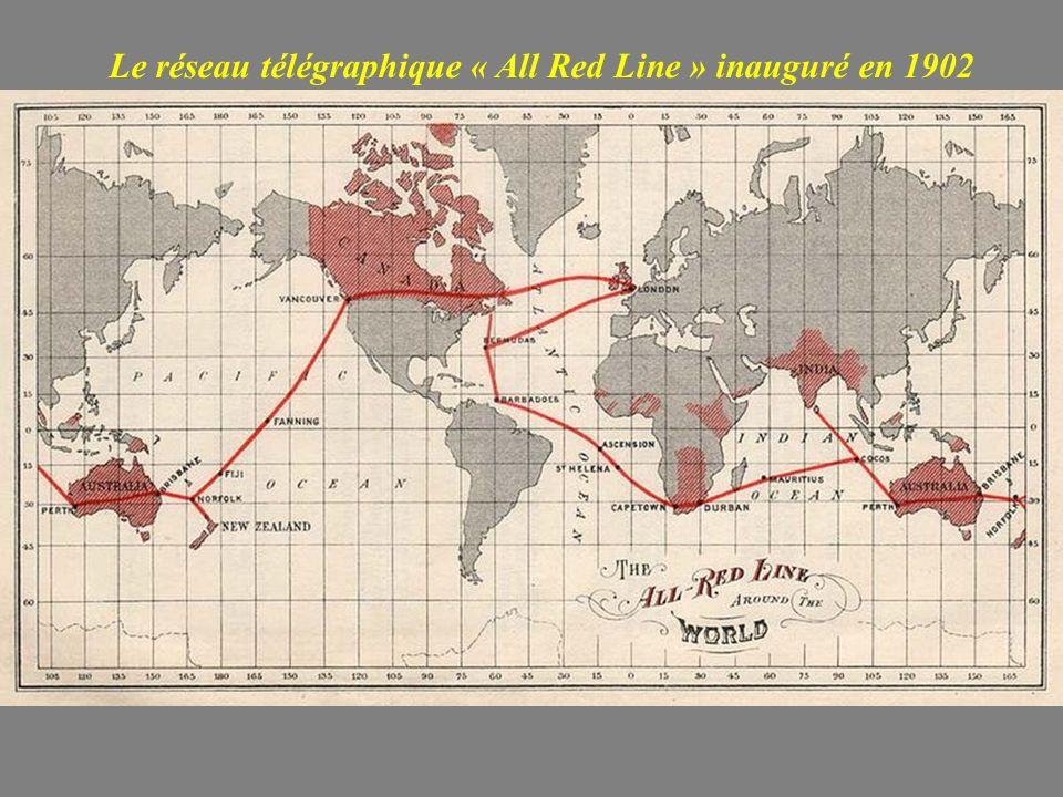 Le réseau télégraphique « All Red Line » inauguré en 1902