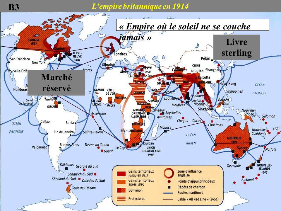 L'empire britannique en 1914