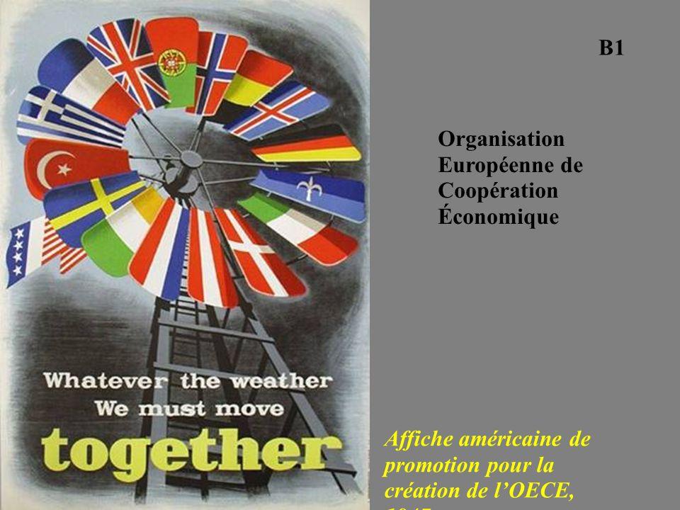 B1 Organisation Européenne de Coopération Économique.