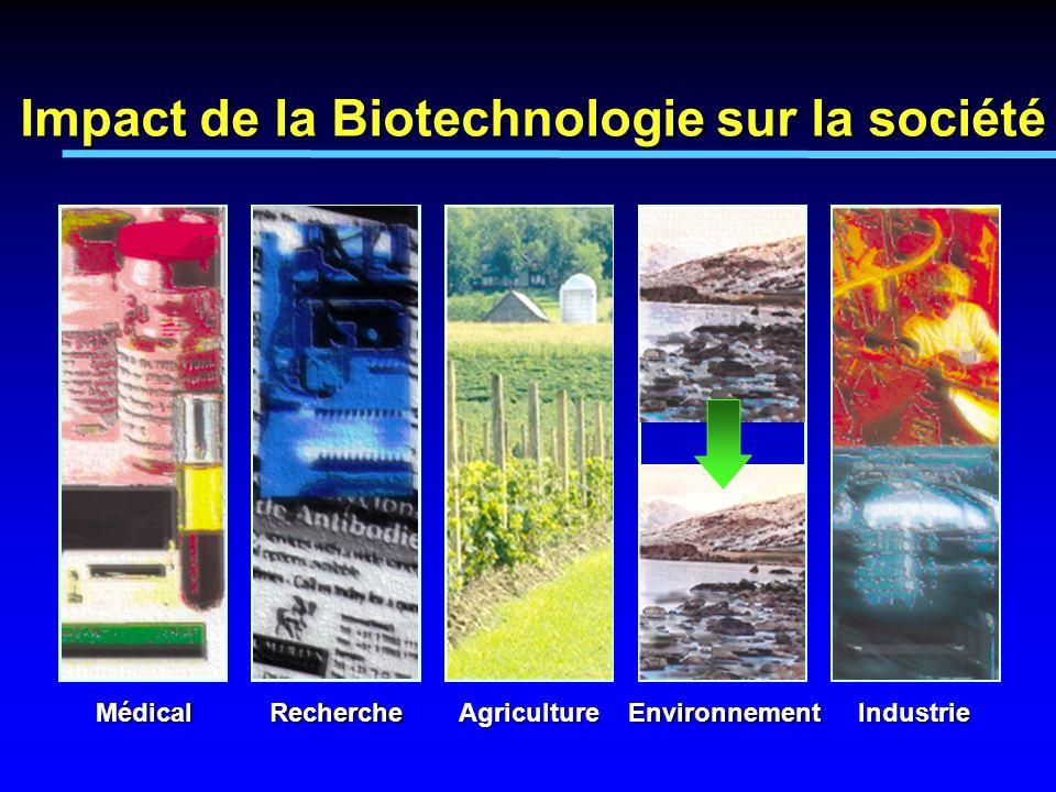 Impact de la Biotechnologie sur la société