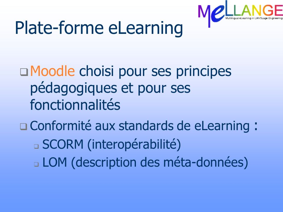 Plate-forme eLearning