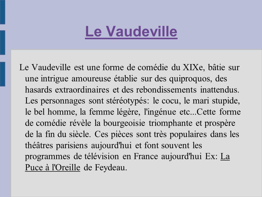 Le Vaudeville