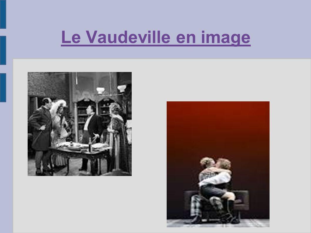 Le Vaudeville en image