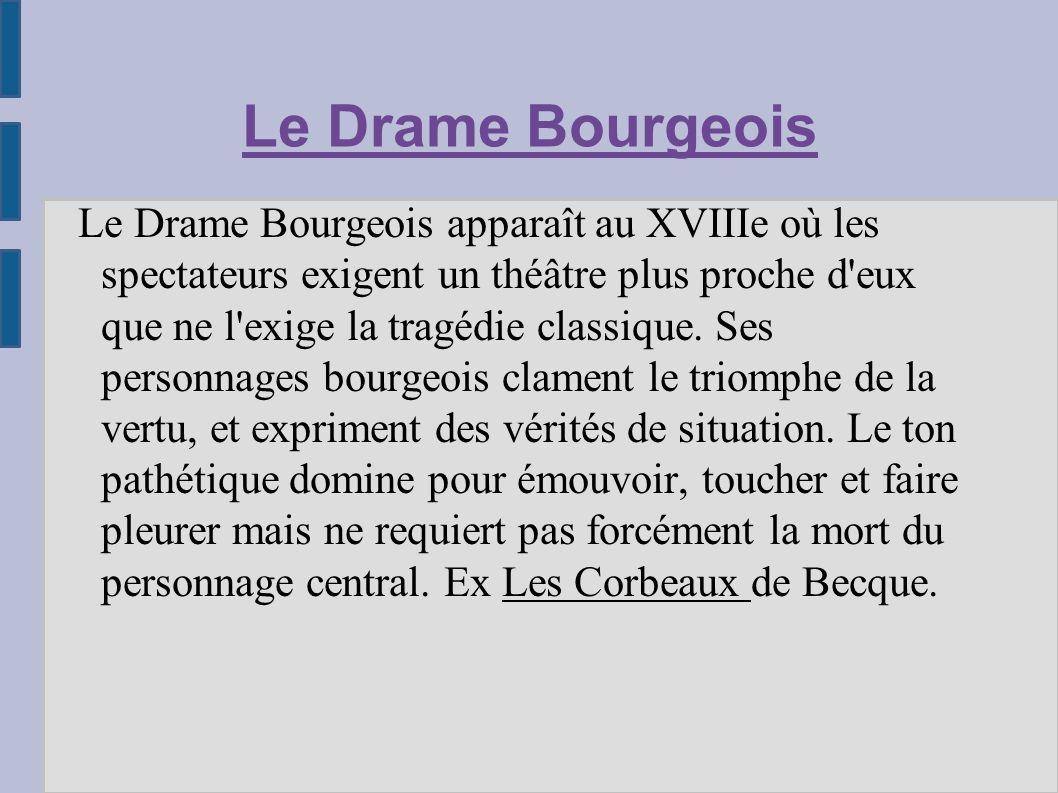 Le Drame Bourgeois