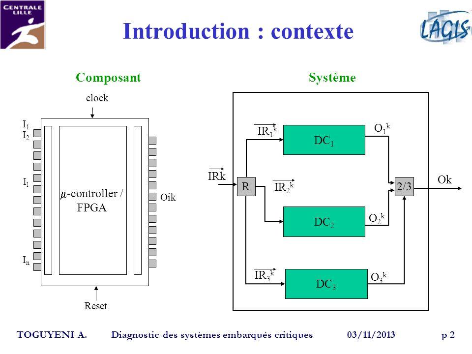 Introduction : contexte