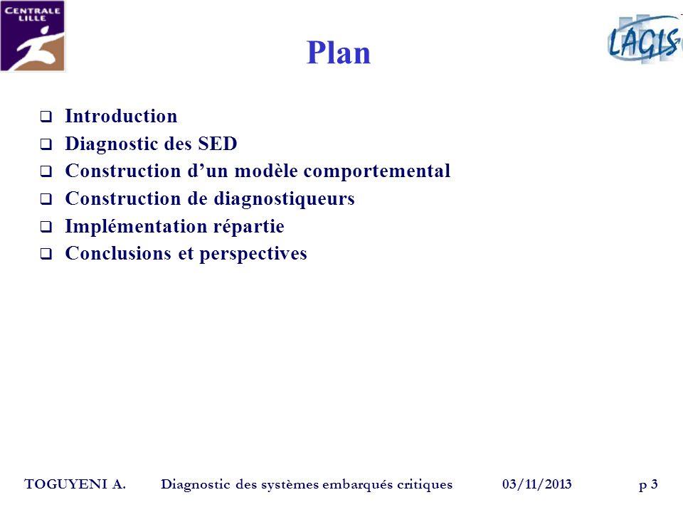Plan Introduction Diagnostic des SED