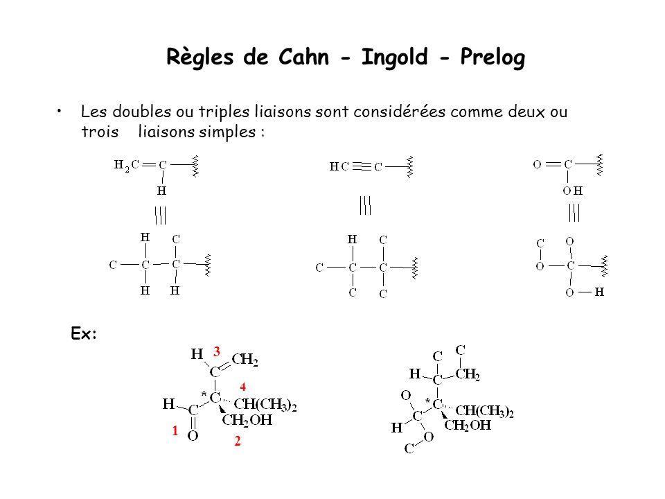Règles de Cahn - Ingold - Prelog