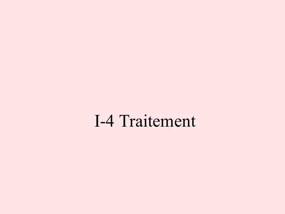 I-4 Traitement