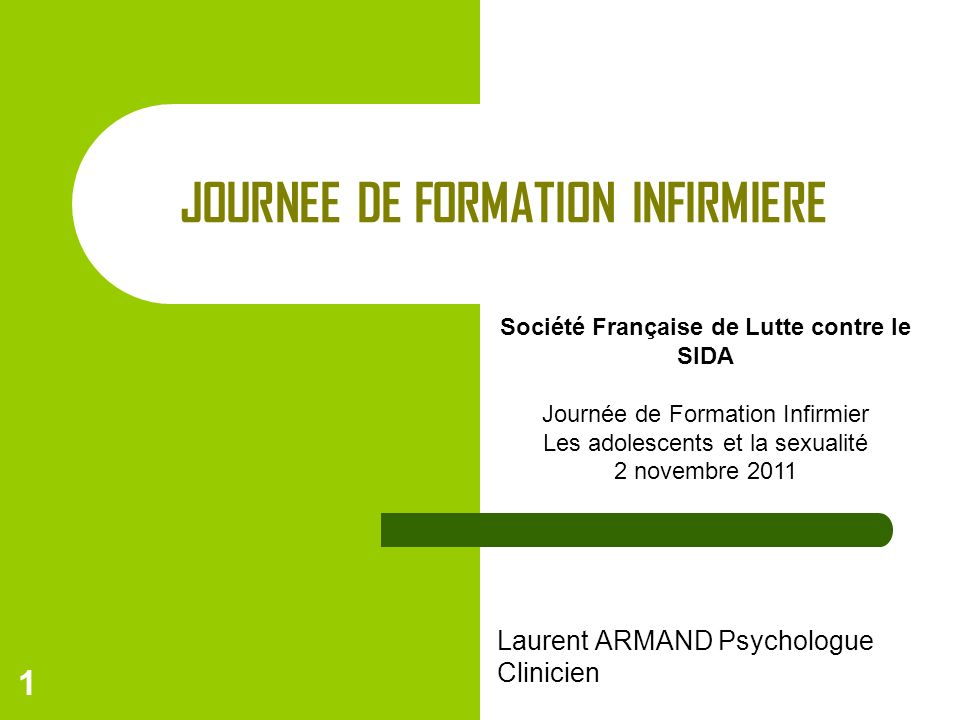 JOURNEE DE FORMATION INFIRMIERE