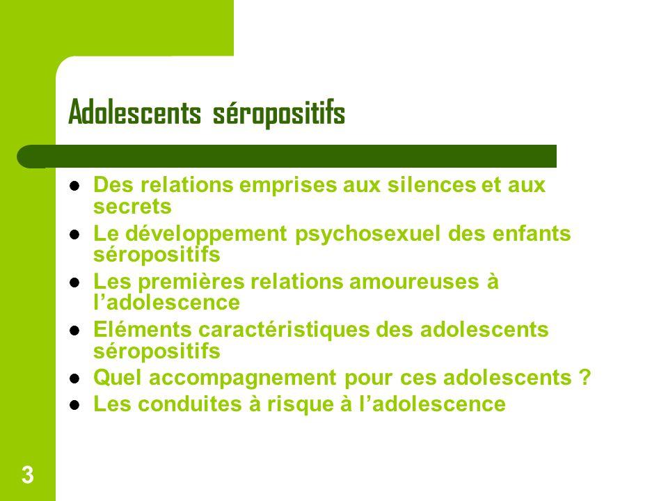 Adolescents séropositifs