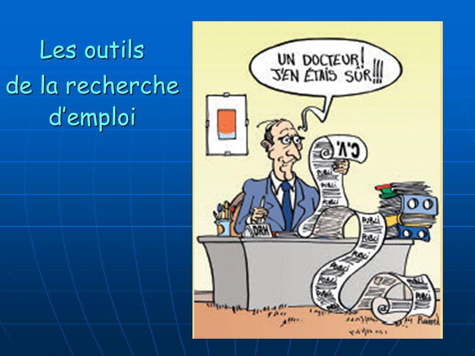 Les outils de la recherche d'emploi 10 10 10