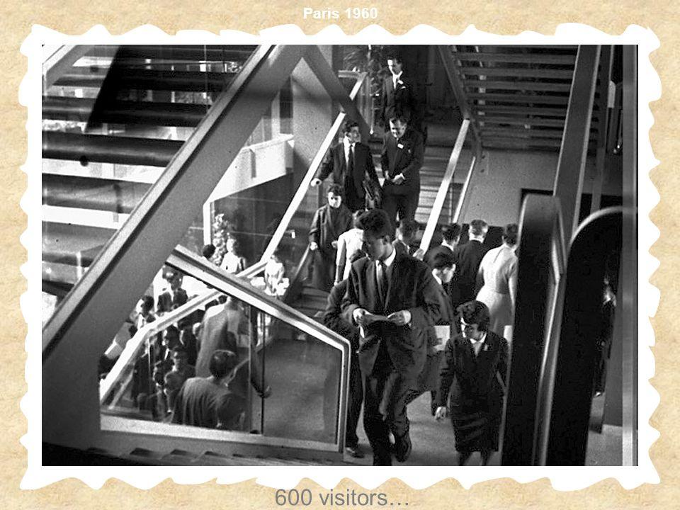600 visitors…