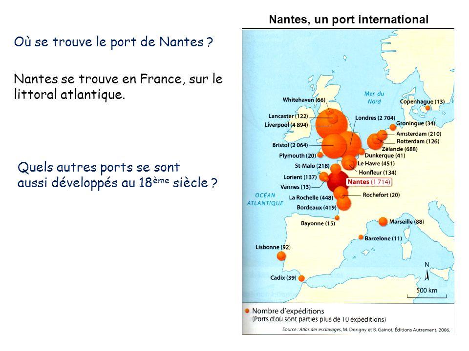 Où se trouve le port de Nantes
