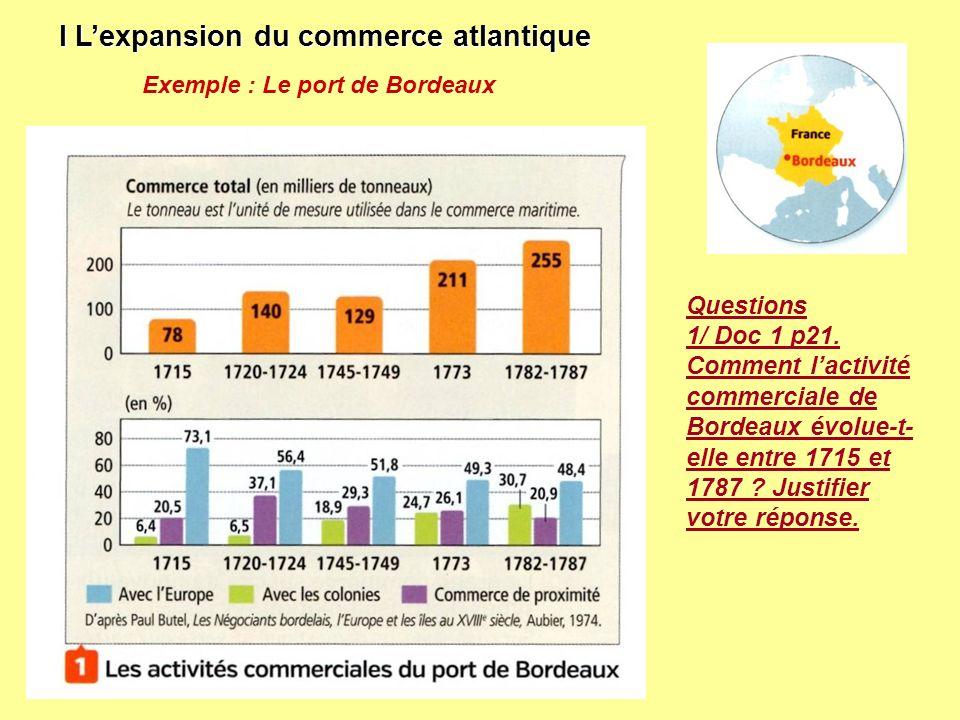 I L'expansion du commerce atlantique