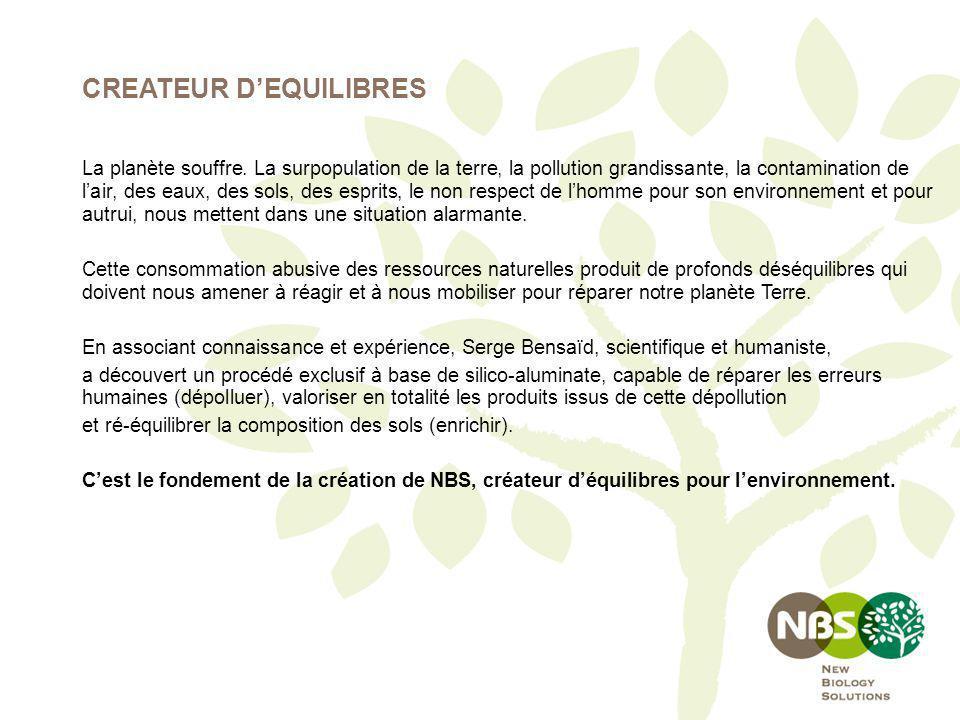CREATEUR D'EQUILIBRES