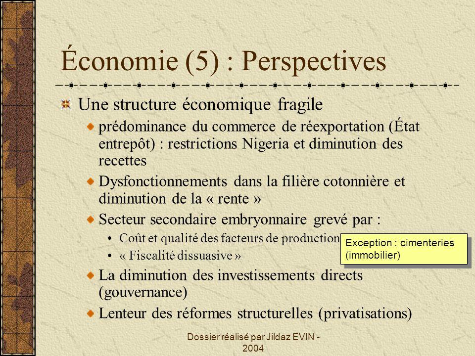 Économie (5) : Perspectives