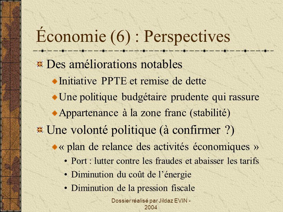 Économie (6) : Perspectives
