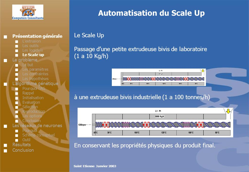 Automatisation du Scale Up