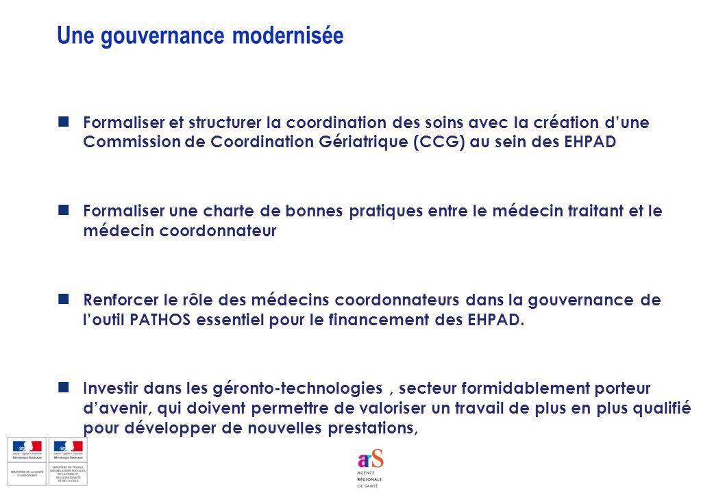 Une gouvernance modernisée