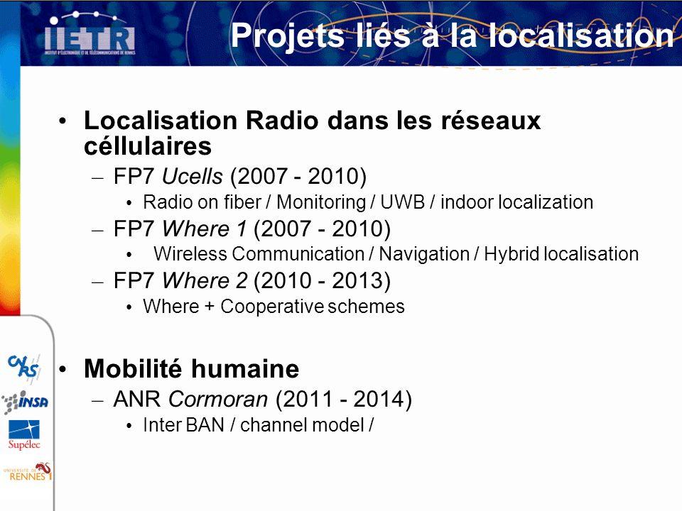 Projets liés à la localisation
