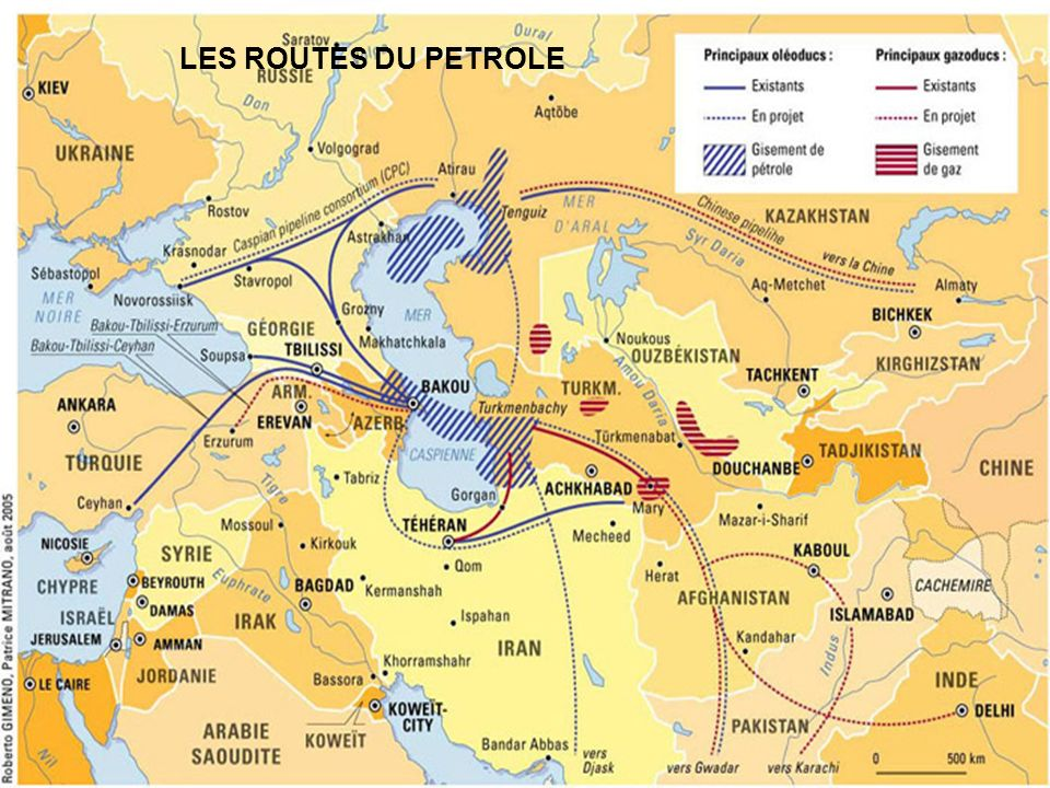 LES ROUTES DU PETROLE