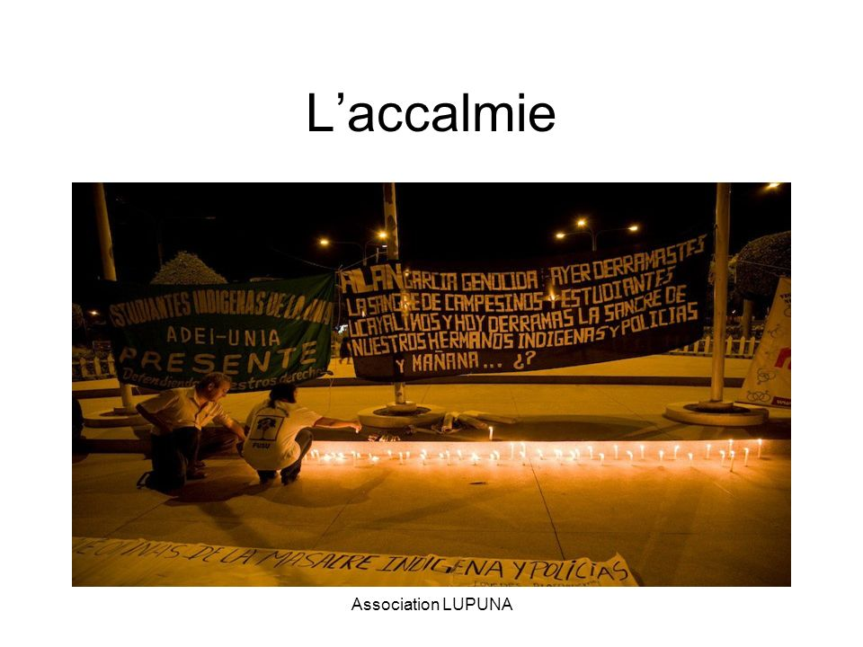 L'accalmie Association LUPUNA